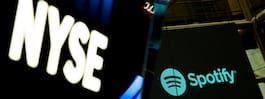 Spotify dras med i techraset – aktien på rekordlåg nivå
