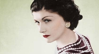"""Gabrielle """"Coco"""" Chanel under hennes storhetstid 1936. Foto: Stella Pictures"""