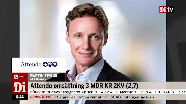 """Attendo:s vd - verksamheten i Skandinavien är stabil"""""""