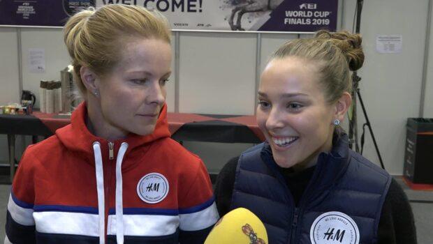 """Janelle Larsson om pappas intresse: """"Tycker det är läskigt"""""""