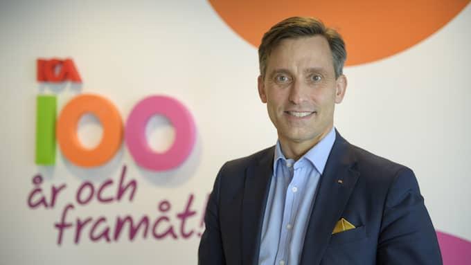 Mats Liedholm, marknadsdirektör på Ica Sverige, är stolt över sin kollega. Foto: / TT NYHETSBYRÅN