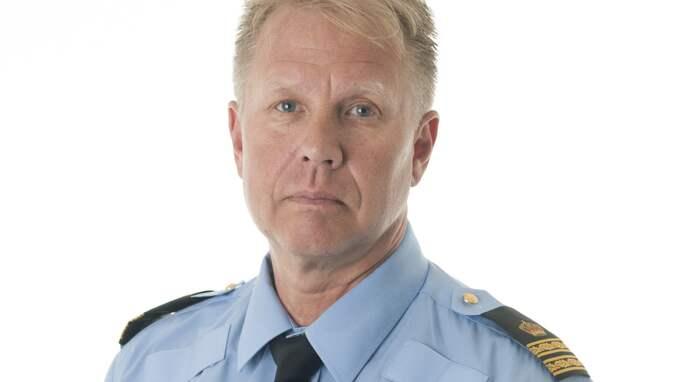 Stefan Gustafsson, polisens presstalesman i Region Väst. Foto: POLISEN