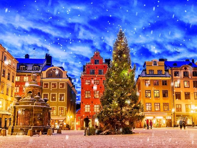 Stockholm är den mest populära tågdestinationen julen 2018.