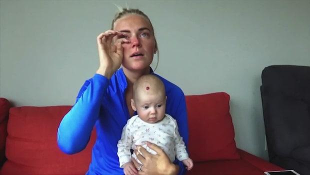 Tårarna i TV4 - efter nya beskedet