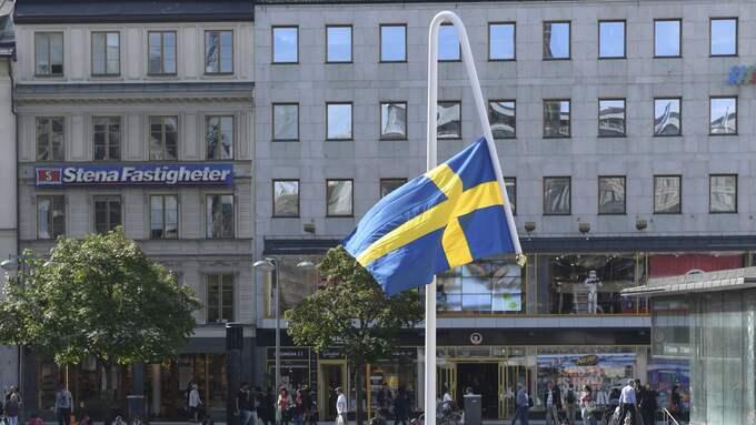 """""""Du gamla, du fria"""" av Mattias Norström. Foto: HENRIK MONTGOMERY/TT / TT NYHETSBYRÅN"""