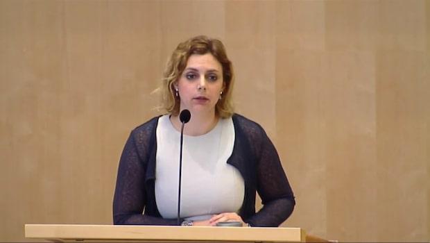 """Paula Bieler (SD): """"Statsministern bär ansvaret"""""""
