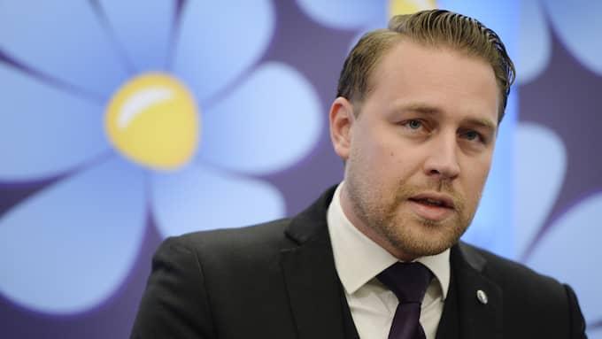 Mattias Karlsson (SD), gruppledare i riksdagen samt riksdagsledamot. Foto: JESSICA GOW/TT / TT NYHETSBYRÅN