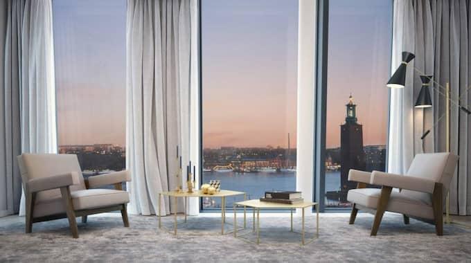 Bland annat sålde han den rekorddyra lägenheten i centrala Stockholm i december för 104,5 miljoner kronor till affärsmannen Filip Tysander. Foto: Eklund Stockholm New York