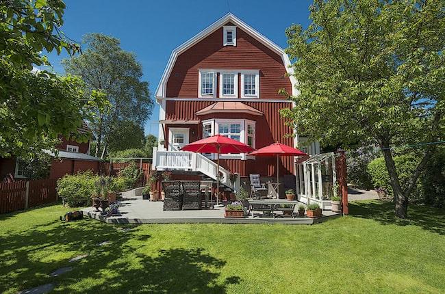 Sekelskiftesvilla i Enskede till salu på Hemnet Leva& bo