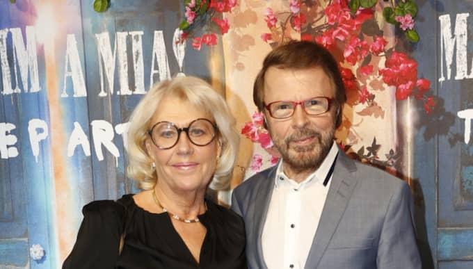 Björn Ulvaeus på röda mattan Foto: Johan Jeppsson