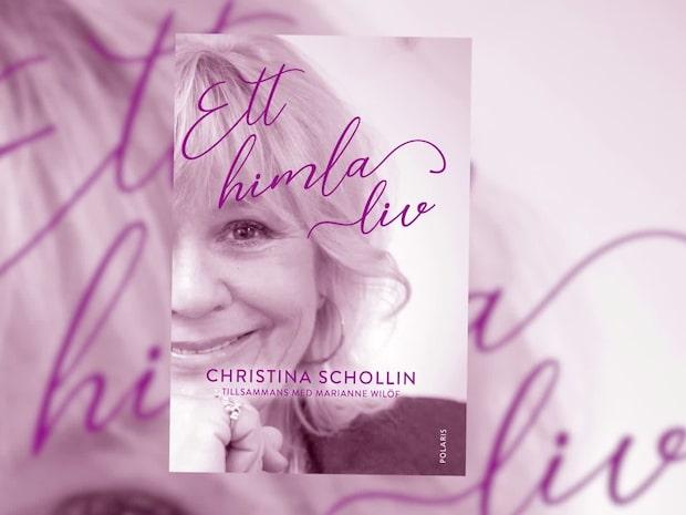 Christina Schollin släpper bok – om hela sitt liv