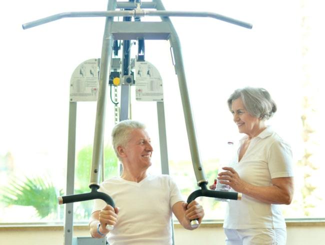Det är aldrig försent att börja träna. En studie visar att 70-åringar har lika stor nytta av styrketräning som 20-åringar.