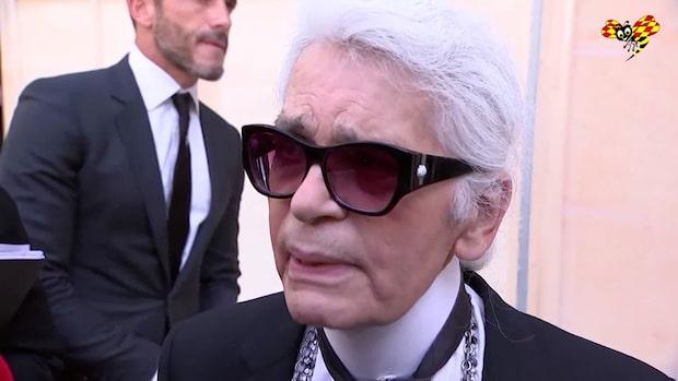 Modeikonen Karl Lagerfeld är död