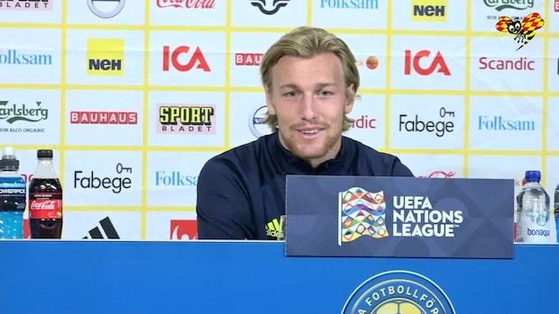 """Emil Forsberg avslöjar hemliga mötet med fotbollförbundet: """"Det är en självklarhet"""""""