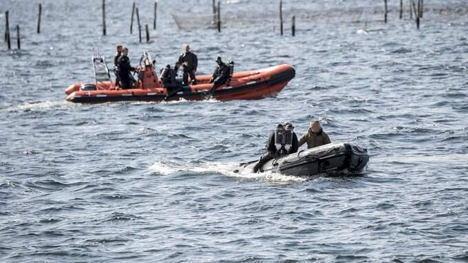 Polisens dykare har finkammat Köge bukt. Foto: IBL BILDBYRÅ