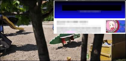 Mannen utger sig för att vara pedofil och bloggar om nakna barn på en förskola i Stockholm.