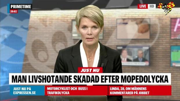 Livshotande skadad efter mopedolycka i Sölvesborg