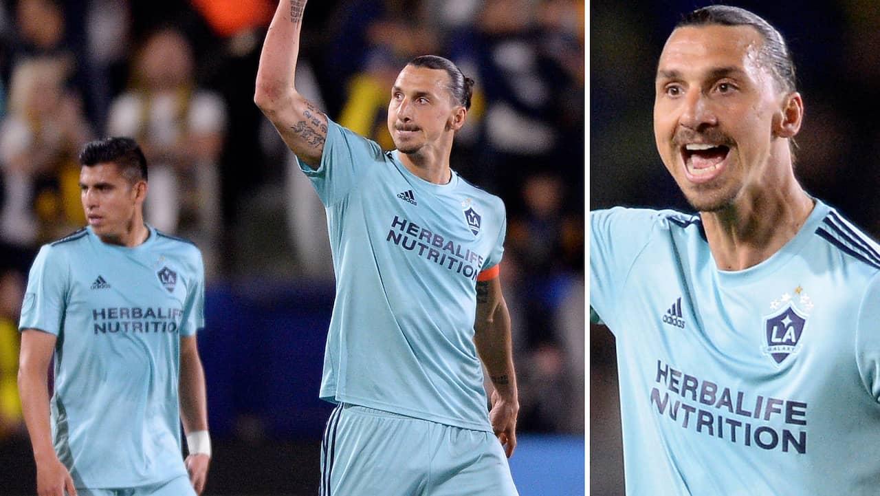 Zlatan håller i fina målsviten – nätade för sjunde gången den här säsongen