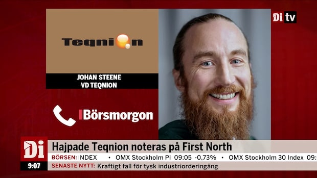 Teqnion noteras på First North
