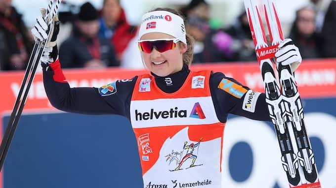 Ingvild Flugstad Östberg kan bestämma Tour de skis framtid, enligt Tomas Pettersson. Foto: GEPA PICTURES/ PHILIPP BREM / GEPA BILDBYRÅN