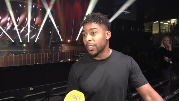 "John Lundvik tävlar med låten ""Too Late For Love"""