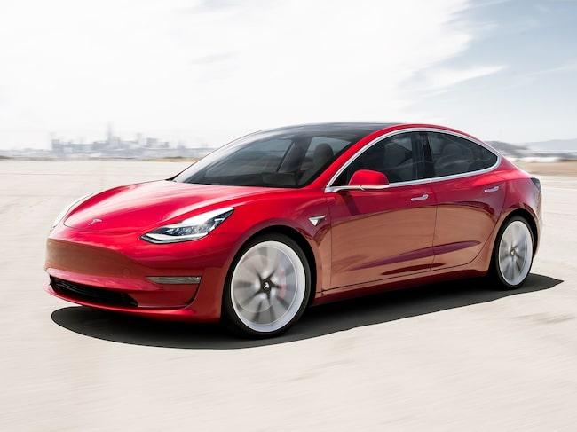 Tesla Model 3 är modellen du klarar dig bäst i vid en olycka, enligt amerikanska trafiksäkerhetsmyndigheten NHTSA.
