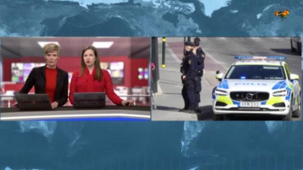 Misstänkt föremål under bil i Stockholm – polis på plats