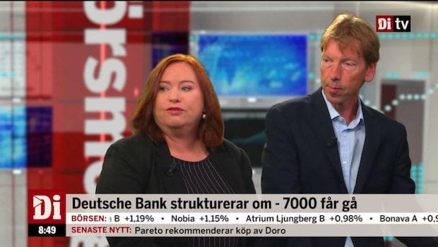 7000 får lämna Deutsche bank