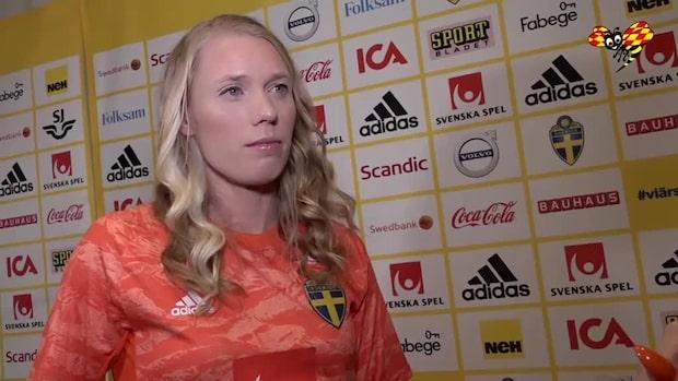 """Hedvig Lindahl: """"Jag är trygg i min roll """""""