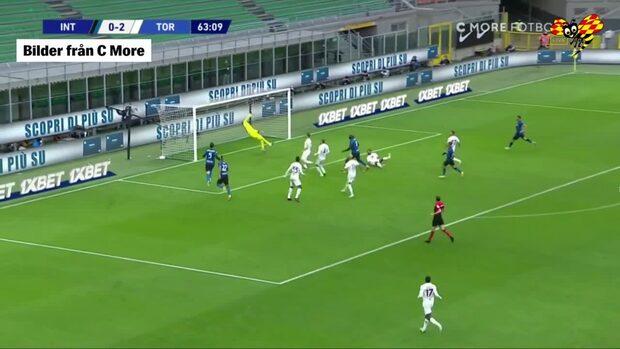 Jättevändning av Inter mot Torino