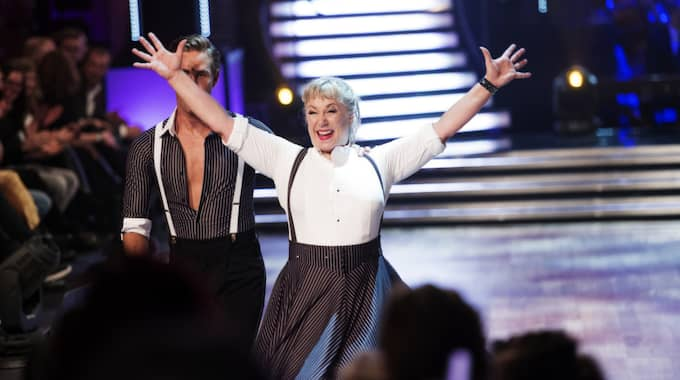 "Stina Wollter, 52, gjorde succé i ""Let's dance"" igen. Foto: Olle Sporrong"