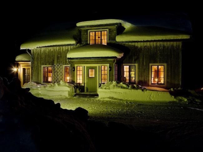 Borgvattnets prästgård i Jämtland är numera ett bed & breakfast där du kan övernatta – om du vågar.