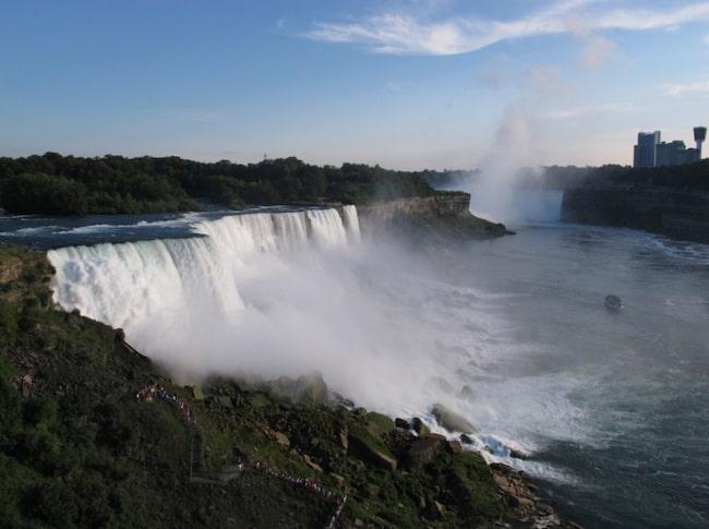 En gång sa en gäst att han ville besöka Niagarafallet - inom tre timmar!