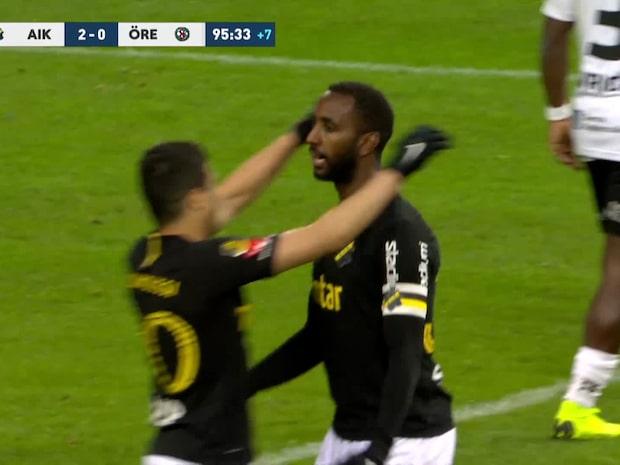Höjdpunkter: AIK–Örebro
