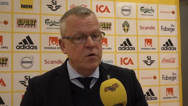 """Janne Andersson: """"Det var absolut inte enkelt"""""""