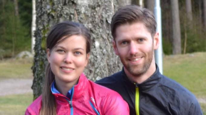 GICK PÅ LINA. På sin första dejt gick Madelene Nordström och Henrik Johansson på lina. Foto: Madelene Nordström