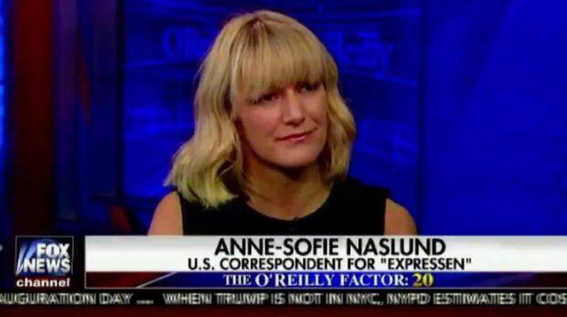 Anne-Sofie Näslund i Fox news - kommenterar flyktingfrågan