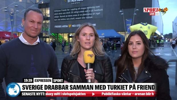 """Uppsnack Sverige-Turkiet: """"Försvagas inte av Pontus Jansson"""""""