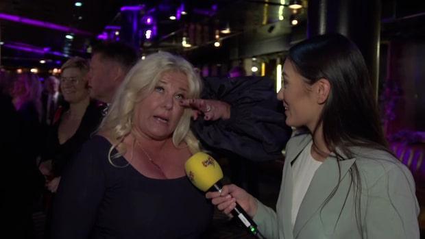 "Mia Parnevik: ""Mascaran har redan runnit"""