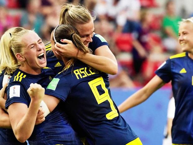Sveriges väg i VM - gruppspel till semfinal