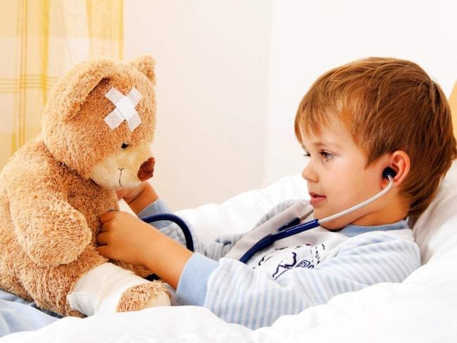 hög feber trots ipren