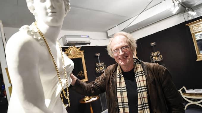 Mässgeneralen Jan-Erik Öhgren är stolt över utbudet på årets mässa. Foto: JENS CHRISTIAN