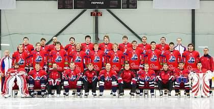 Ryska elitishockeylaget Lokomotiv från Jaroslavl.