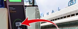 Nyheten gör det enklare  att checka in på Arlanda