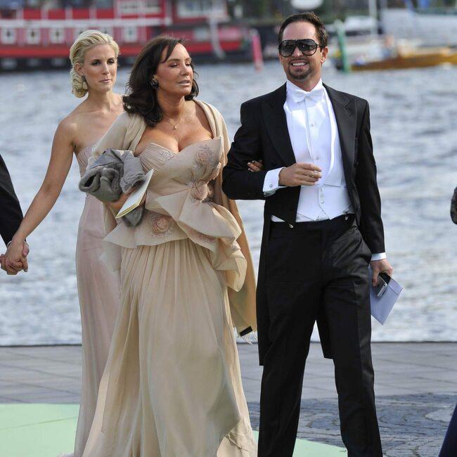 Camilla Olsson, här i sällskap med Andreas Carlsson.