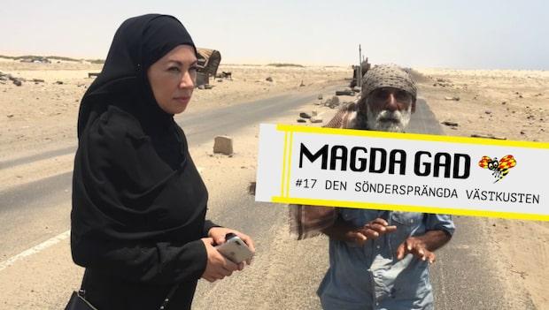 Magda Gad - Den söndersprängda västkusten