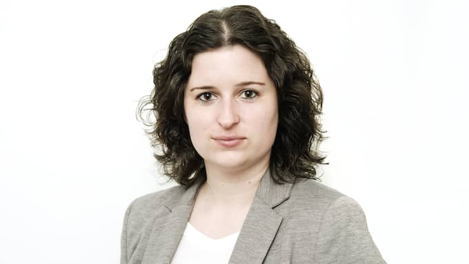 Kollegan Emelie Lundgren är också reporter på Di TV. Foto: Olle Sporrong