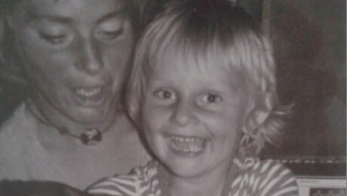 Jessica och hennes mamma.