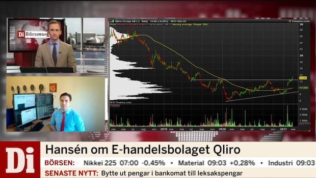 Marknadsstrategen om E-handelsbolaget Qliro