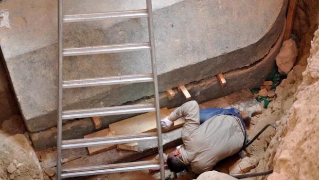 Egyptiska graven har öppnats – efter 2000 år